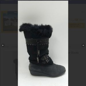 Sorel Fur Lined Winter Boots Size 7